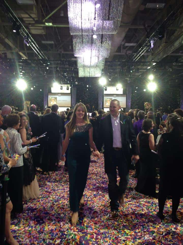 Celebrating Diamond at the doTERRA Global Convention