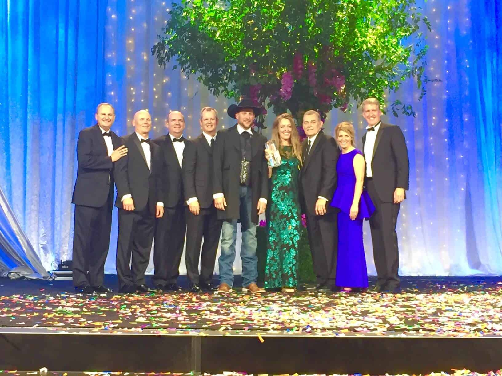 Christian and Jill with the doTERRA Founding Executives, September 2016