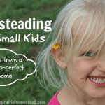 Homesteading with Small Children (5 Tips from a Not-So-Perfect Mama)