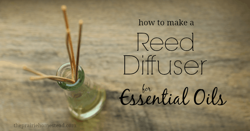 diy reed diffuser for essential oils