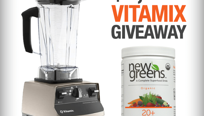 GIVEAWAY: Vitamix Pro 500 and NewGreens Drink Mixes ($1000 value!)