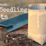 DIY Paper Seedling Pots