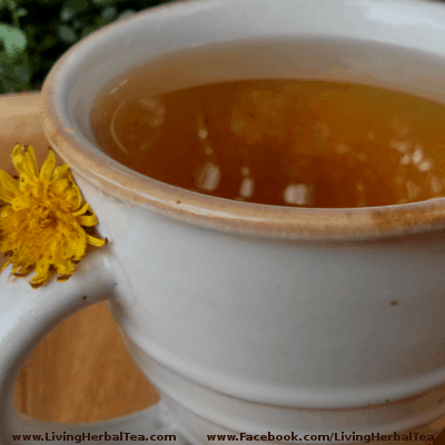 dandelion root herbal tea