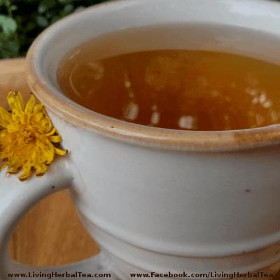 dandelion root herbal tea