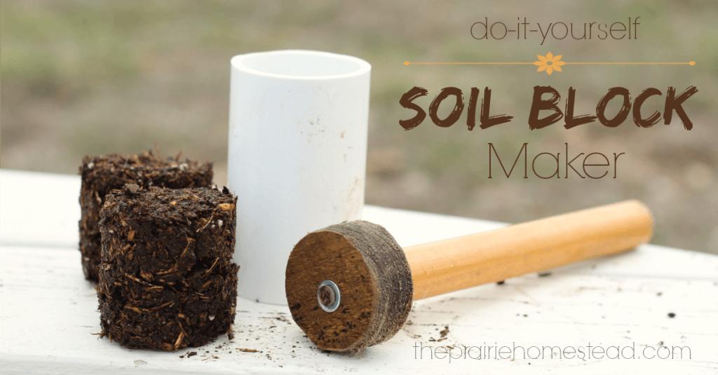 diy soil block maker