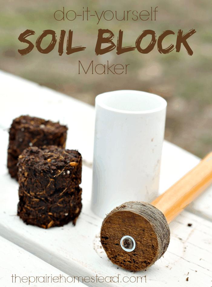 diy soil blocker