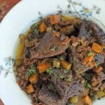 Braised Short Ribs with Sun-Dried Tomatoes and Herbs from The Nourished Kitchen