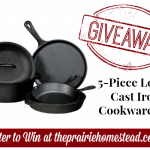 GIVEAWAY: Lodge 5-Piece Cast Iron Cookware Set!
