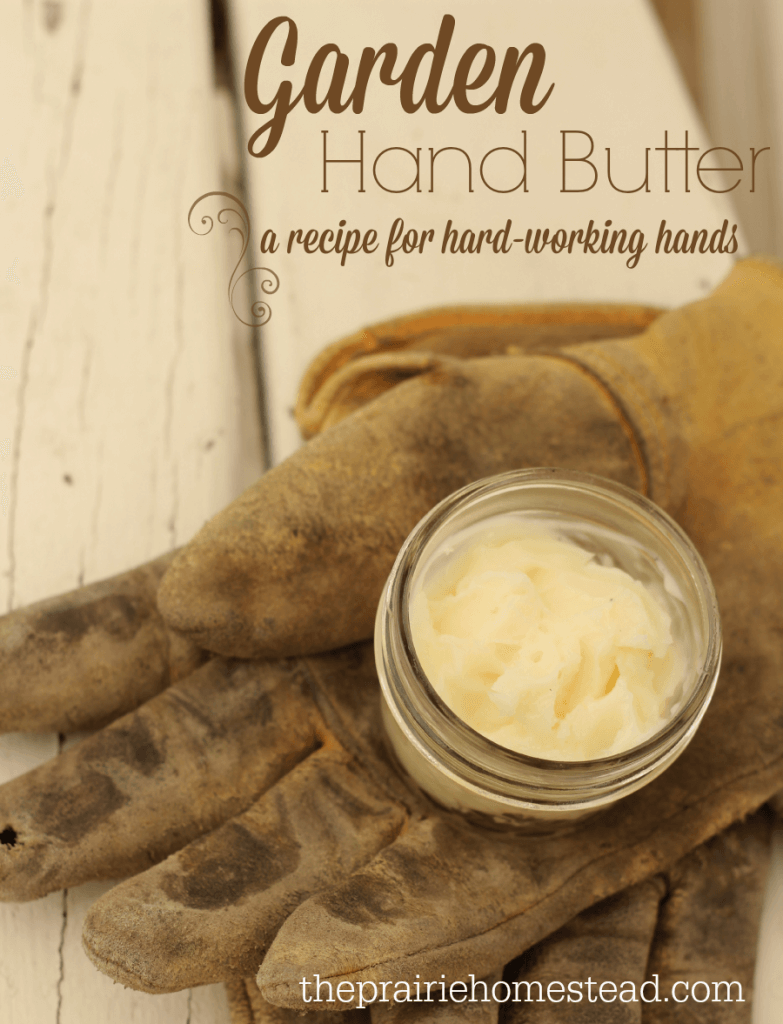 homemade hand cream recipe for hard working, dry, hands