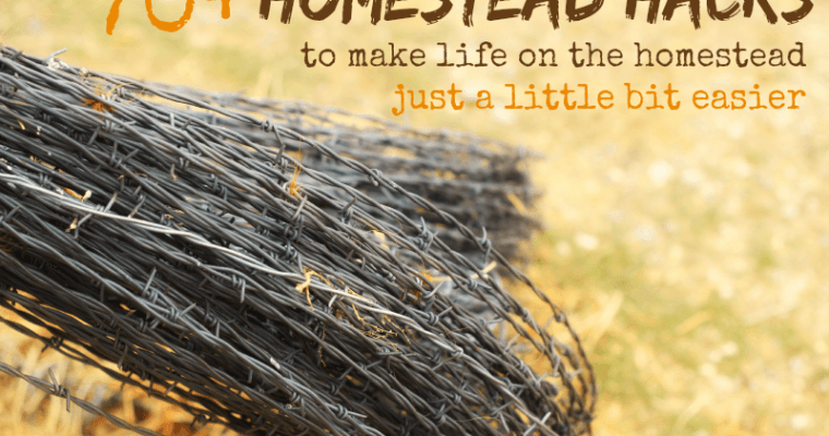 70+ Homestead Hacks: Life Hacks for Homesteading