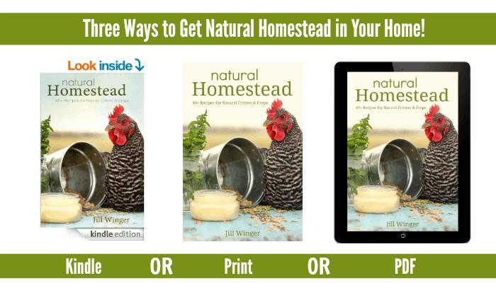 natural homestead ebook