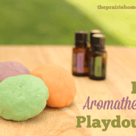 homemade playdough recipe you can make with essential oils