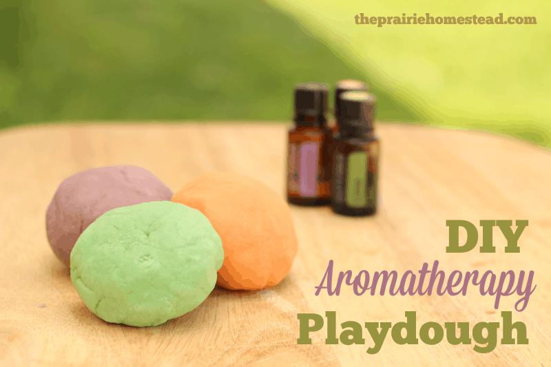 essential oil playdough