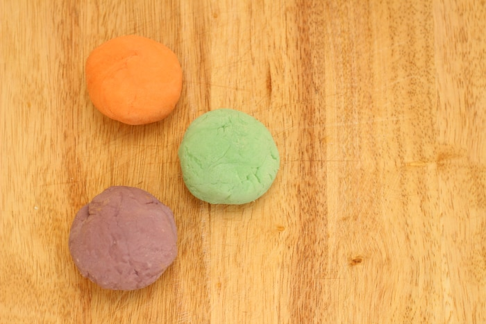 homemade essential oil playdough