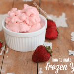 Easy Homemade Frozen Yogurt