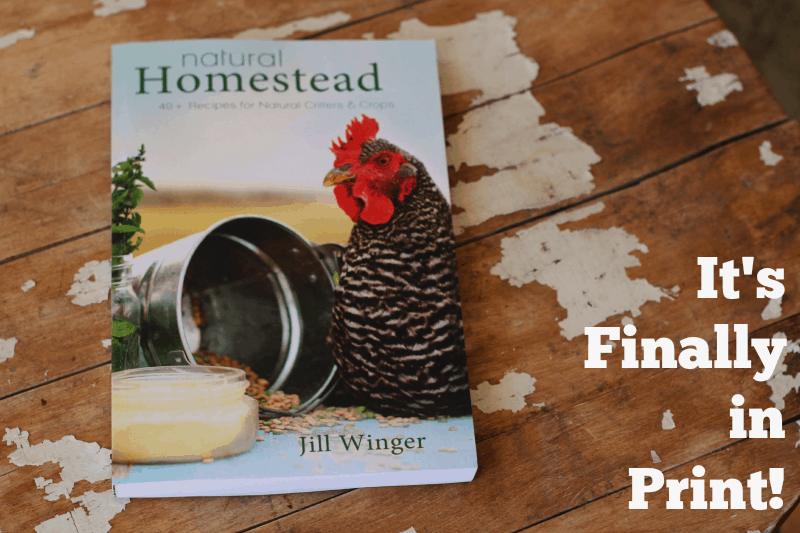 natural homestead recipe book