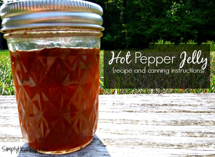 How to Can Hot Pepper Jelly