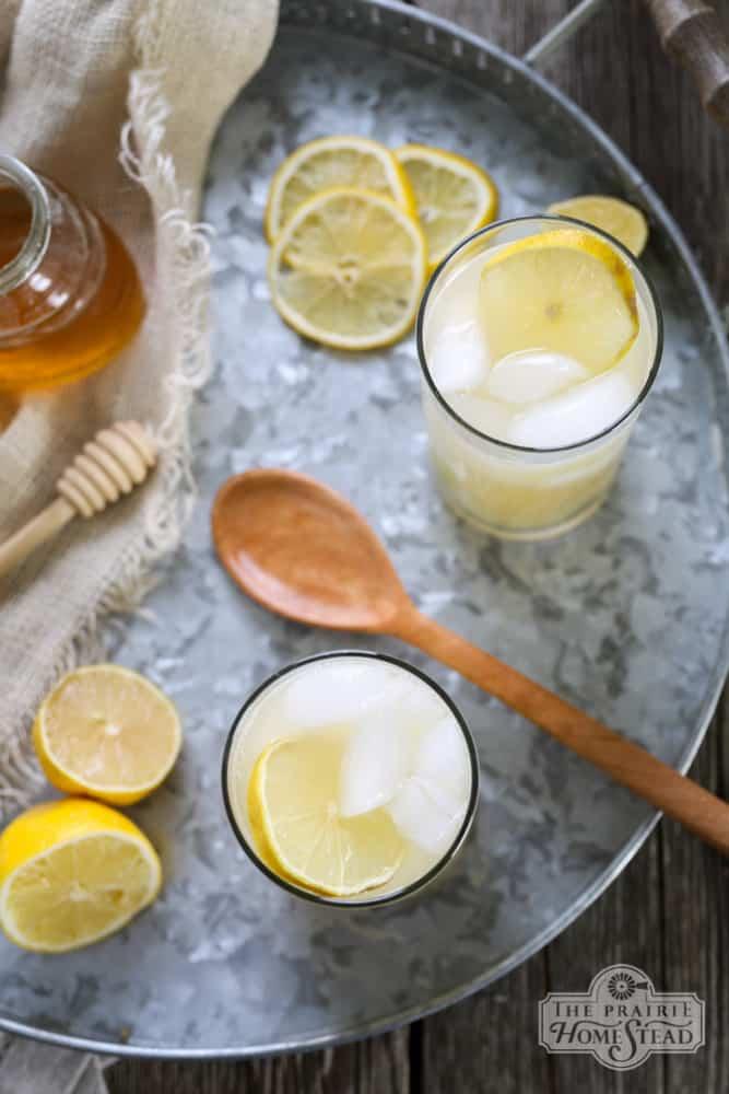 honey lemonade recipe