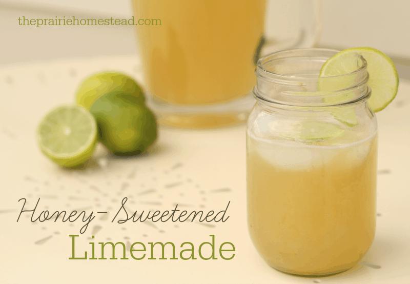 naturally sweetened limemade recipe