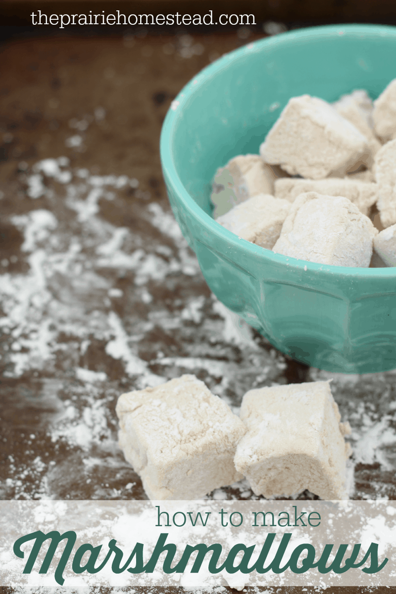 How to Make Homemade Marshmallows (naturally-sweetened)