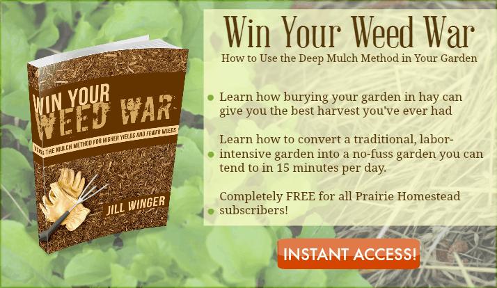 Weedwarfeaturebox. Deep Mulch Garden Method