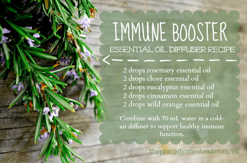 immune support essential oil diffuser recipe