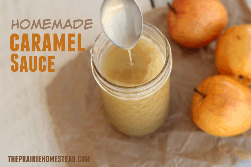 a simple, no-fuss recipe for caramel sauce--perfect for ice cream topping, apples, or fruit dip. I'm having a really hard time not just eating it with a spoon...