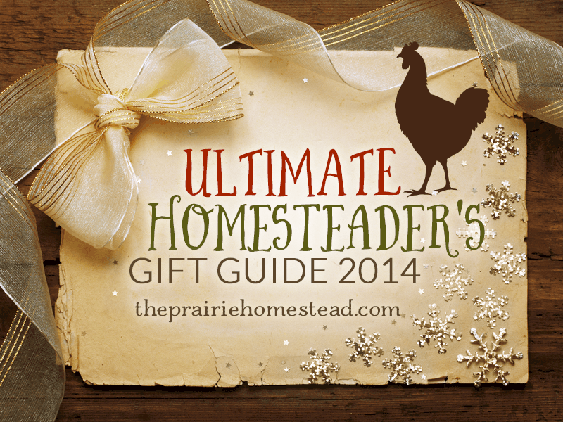 gift ideas for homesteaders, farmers, hobby farmers, or anyone who loves a simpler way of life!