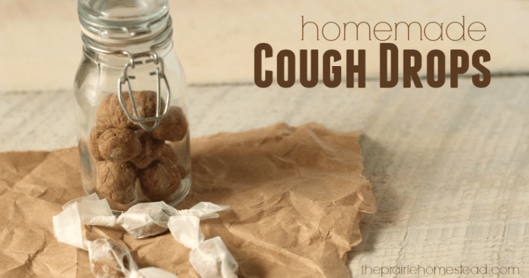 DIY Homemade Cough Drops