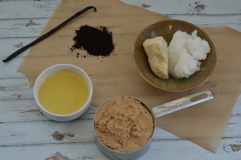 coffee cocoa scrub ingredients