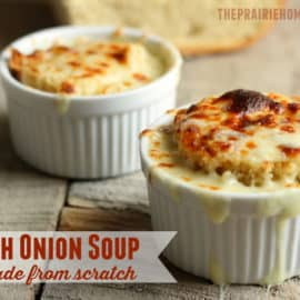 an elegant, yet simple, french onion soup recipe