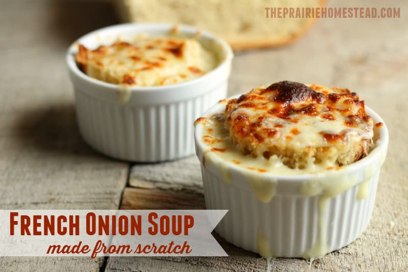 French Onion Soup Recipe Made From Scratch: an elegant, yet simple, french onion soup recipe