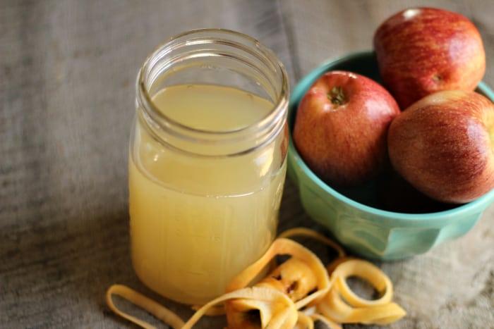 домашний рецепт яблочного уксуса из отходов и кожуры