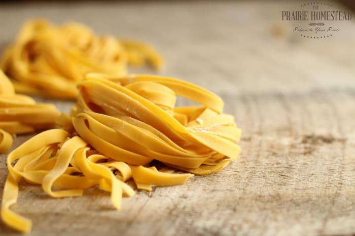 homemade fresh pasta recipe