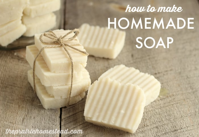 Homemade Hot Process Soap Recipe