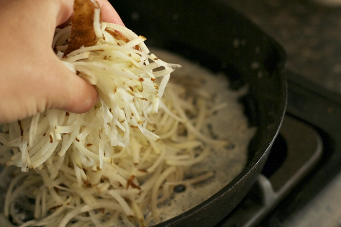 homemade shredded hash browns recipe