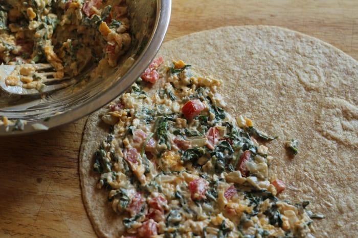 Spinach Quesadilla Recipe