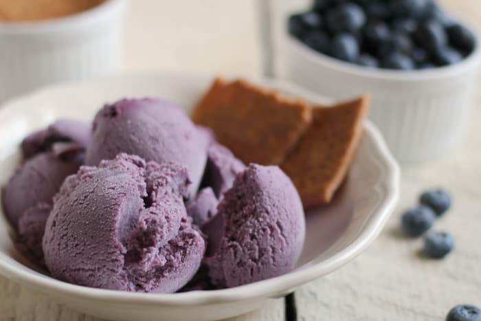 blueberry cheesecake ice cream recipe