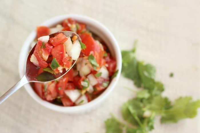 pico de gallo recipe, fresh salsa