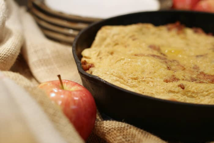Apple Puff Pancake Recipe #Pancakes #PancakeBreakfast | The Prairie Homestead