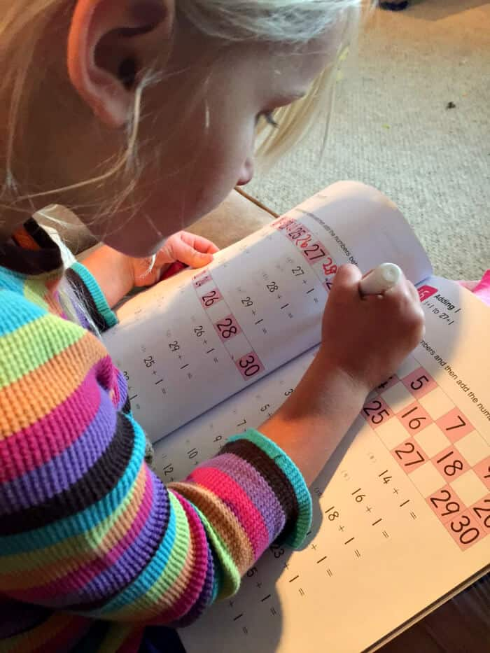 Our First Year of Homeschooling - workbook activity | The Prairie Homestead