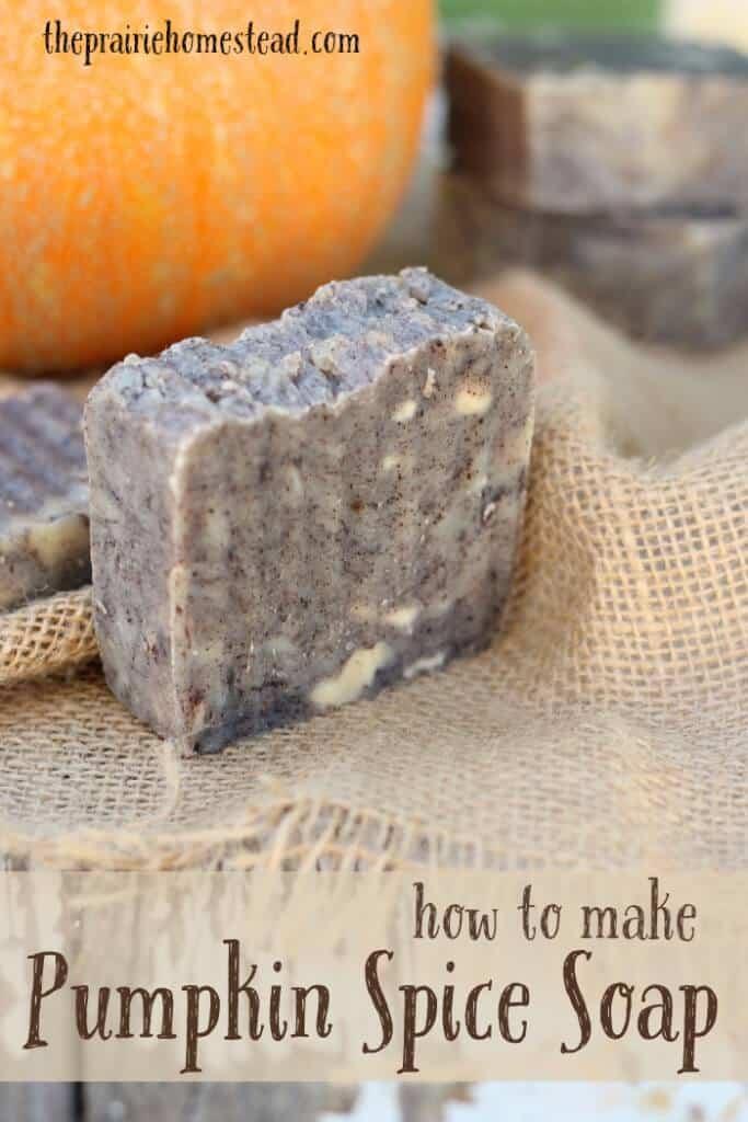 how to make pumpkin soap recipe