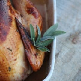 How to Cook a Pastured Turkey - brined pastured turkey | The Prairie Homestead