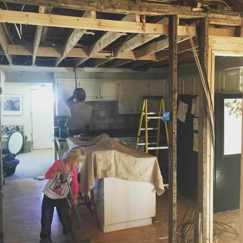 Farmhouse kitchen remodel | The Prairie Homestead