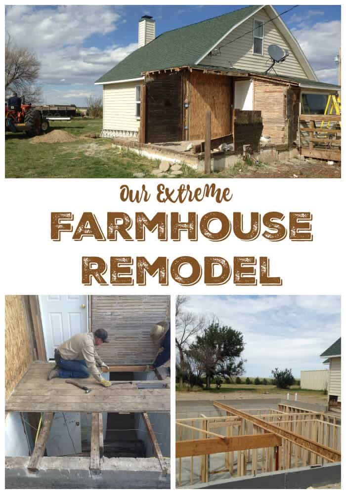 Our extreme farmhouse remodel the prairie homestead Small cottage renovation ideas