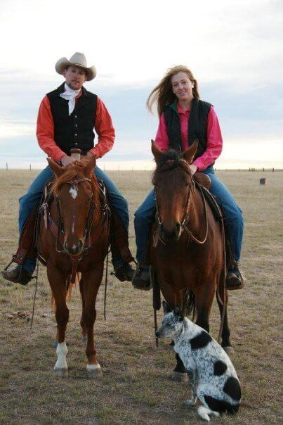 This is us... Pre-kids, pre-homesteading, and pre-blog...