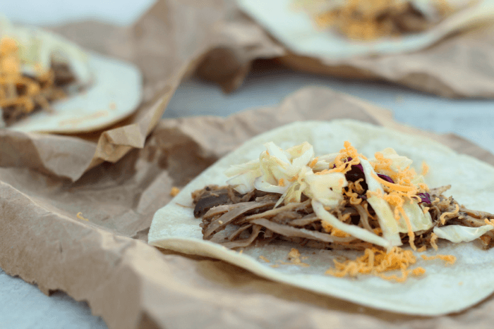 shredded pork taco recipe
