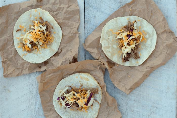 shredded pork taco recipe