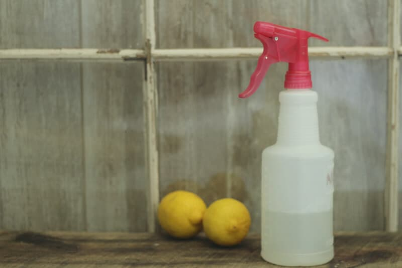 lemon essential oil all purpose cleaner
