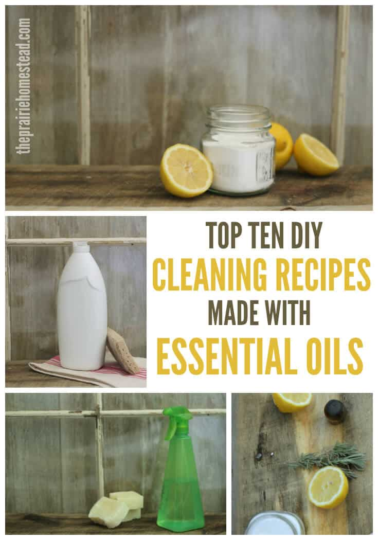 Homemade Household Cleaners With Essential Oils Crazy Homemade